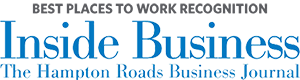 Logo for Best Places to work - Inside Business