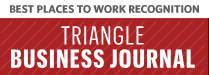 Logo for best places to work - Triangle Business Journal