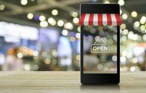 Thumbnail image of ecommerce technology phone