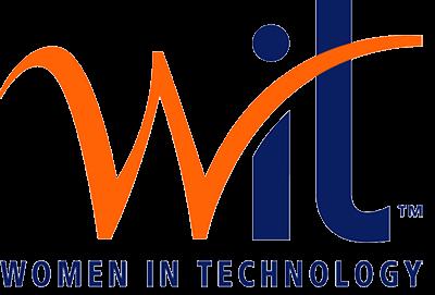 WIT women in technology logo