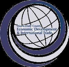 Logo miami dade county economic development international trade