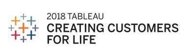 2018 Tableau Creating Customers For Life Award Logo
